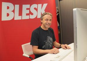 Bývalý primátor Prahy Pavel Bém byl hostem online chatu na Blesk.cz