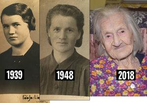 Marii Macákové je 102 let. Je jen o dva roky starší než naše republika a prožila si všechny její historické okamžiky.