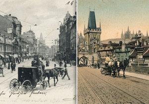 Drožkáři a fiakristé za první republiky v Praze dostávali příplatky za jízdu do kopce.