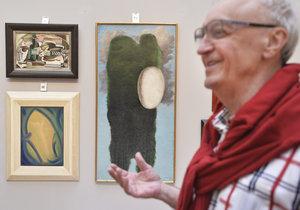36 milionů korun za obraz Josefa Šímy: Na aukci ho koupil klient na telefonu