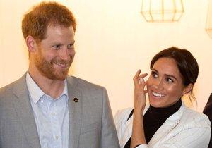 Princ Harry a Meghan Markle na oficiální návštěvě v Austrálii