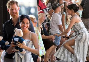 Meghan a Harry na návštěvě v Austrálii