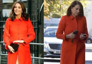 Kate a Carole Middletonovy