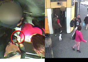 VIDEO: Šermoval nožem ženě před nosem a vyhrožoval, že ji bodne! Muži se nelíbilo, že zdržela výtah v Kobylisích
