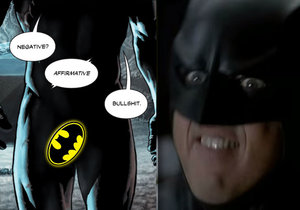 Batman poprvé ukázal penis v komiksu a lidé šílí.