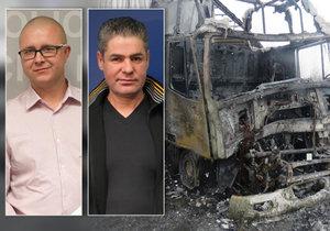 Josef a David zachránili ženu z hořícího auta a zraněného muže zaklíněného ve voze: Změnili postupy policie