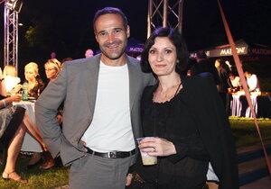 Pavel Zuna s manželkou Andreou. Toho času před rozvodem...