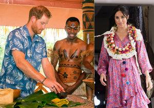 Těhotná Meghan poprvé od oficiální návštěvy východních ostrovů opustila prince Harryho.