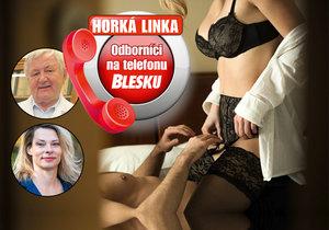Tentokrát se na Horké lince Blesku bude řešit sex.