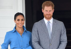 Princ Harry a Meghan na ostrovech Tonga