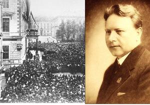 Známý brněnský prvorepublikový starosta Karel Tomeš (†68) před devadesáti lety slavil vznik ČSR. Za války ho zavraždili nacisté.