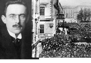 Divoký říjen 1918 v Brně: Slavný archeolog Absolon utíkal před rozvášněným davem