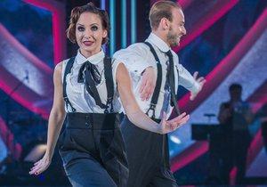 Veronika Arichteva s Michalem Necpálem tančili ve třetím kole jive.