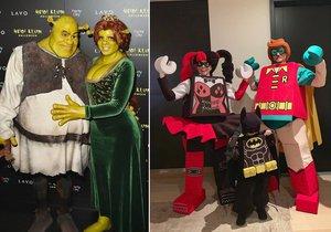 Halloweenské kostýmy hollywoodských hvězd