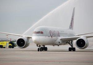 Na pražském letišti přistál Boeing 787 Dreamliner.