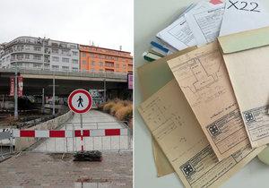 Dokumenty k mostu v Bubenské ulici se neztratily, uvedla TSK.