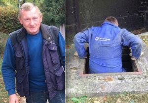 Práce odečítače u Pražských vodovodů a kanalizací není v žádném případě jednoduchá. Ladislav Smialek by mohl vyprávět.