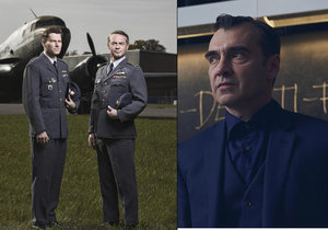 Pavel Řezníček se v neděli večer postavil proti Davidu Švehlíkovi v seriálu Balada o pilotovi.