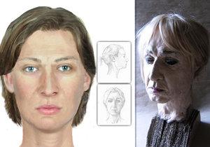 Policie zveřejnila podobu zavražděné ženy. Její ostatky nacházela před lety po celé Praze