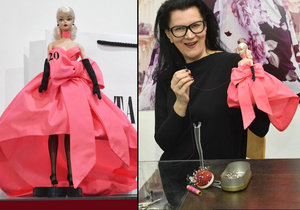 Návrhářka Kovaříková, která obléká Kostkovou: Šije i pro barbie!