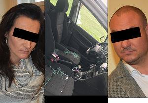 Vybrzdil řidičku a rozmlátil jí auto: Bála jsem se, vypadal jako mafián, řekla žena u soudu