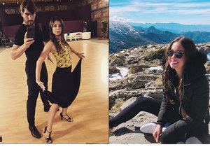 David Svoboda tráví veškerý čas s Veronikou na parketě, Nikola v Granadě.
