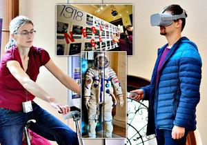 Zábava na Týdnu vědy a techniky: Harfa bez strun, úniková hra a nové objevy