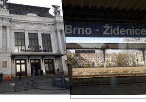 Opravy nástupišť vyřadí od 9. prosince na rok z velké části z provozu brněnské hlavní nádraží. Vlaky budou končit na zastaralém nádraží v Židenicích.