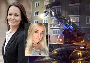 Pornoherečka Daisy Lee promluvila o stavu své maminky po výbuchu v bytě