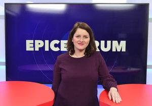 Ministryně práce a sociálních věcí Jana Maláčová (ČSSD) v pořadu Blesku Epicentrum vysvětlovala, jak chce v Česku zlepšit život samoživitelkám