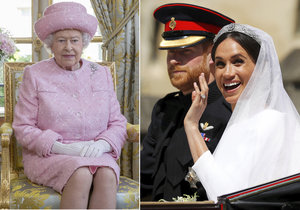 Královna Alžběta II. si stěžovala Harrymu na rozmazlené chování Meghan.