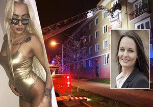 Výbuch v bytě političky Ženíškové: Dcera zahání smutek lesbickou show