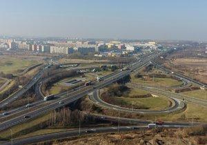 Opravy na Pražském okruhu. Generálky se dočká most Ořech