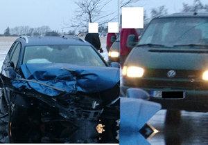 Policie hledá dobrého anděla: Pomáhal zraněným při nehodě dvou aut u Říčan