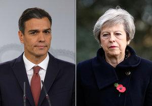 Sobečtí Britové by měli udělat nové referendum o brexitu, vzkázal Mayové španělský premiér