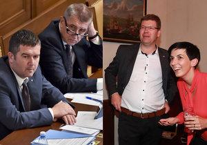 Jak dopadl průzkum po roce od sestavení Sněmovny? ANO ztrácí, ČSSD nad propastí, TOP 09 dokonce mimo Sněmovnu.