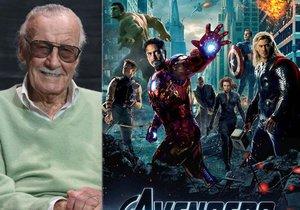 Stan Lee (†95) se posmrtně objeví v Avengers 4.
