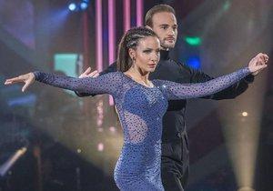 Veronika Arichteva a Michal Necpál svou rumbou oslnili porotu.