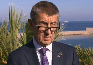 ONLINE Babiš zuřil v Palermu: Hnusné! Mého syna přepadly hyeny. Je to kampaň
