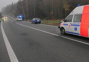 Vybrzdil řidič octavie sanitku?: Policisté shánějí svědky!
