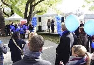 Světový den diabetu - osvěta dnes probíhá v Praze na Karlově náměstí.