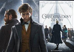 Fantastická zvířata: Grindelwaldovy zločiny jsou v kinech. Nový příběh J. K. Rowlingové se staronovými postavami je tentokrát spíše vážný. Především se jím ale otevírají vrátka dalších tří pokračování.
