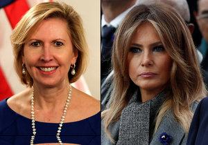První dáma USA Melania Trumpová požaduje rezignaci bezpečnostní poradkyně Miry Ricardelové.