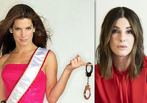 Sandra Bullock se za ta léta celkem změnila...