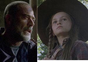 K Judith Grimes se Negan chová jako strýček.