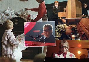 Elton John ve vánoční reklamě