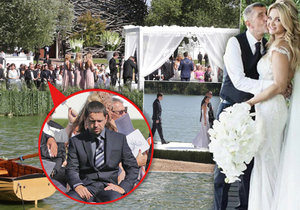 Babiš junior byl přítomen i na svatbě svého otce v roce 2017 na Čapím hnízdě.