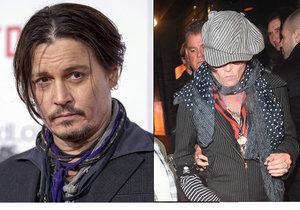 Johnny Depp opět podezřele hubne! Může za propadlé tváře rakovina?