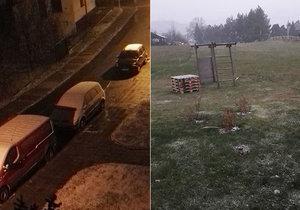 Na některých msítech v Česku napadl 18. listopadu první sníh