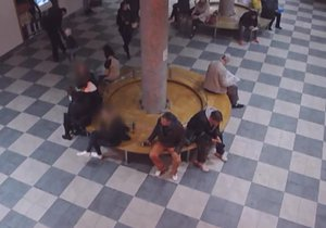 Drzý zloděj na jihlavském nádraží